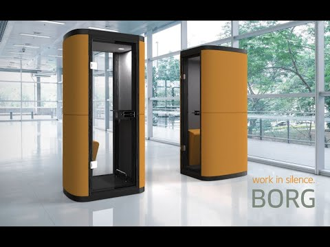 Phonebooth eCell made by Borg Furniture